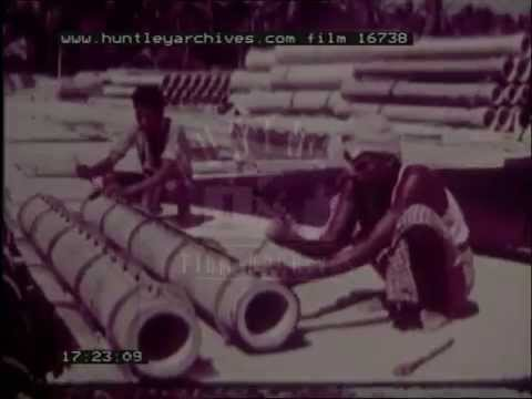 Indo-Norwegian Project in Kerala, 1960's - Film 16738