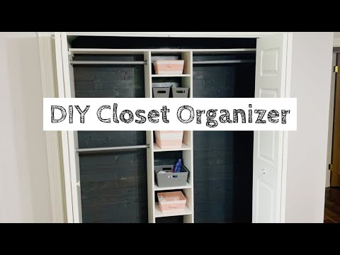 DIY Closet Organizer Build | Cheap and Easy!