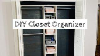 DIY Closet Organizer Build | Cheap and Easy!
