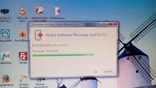 instalar el nokia software recovery tool