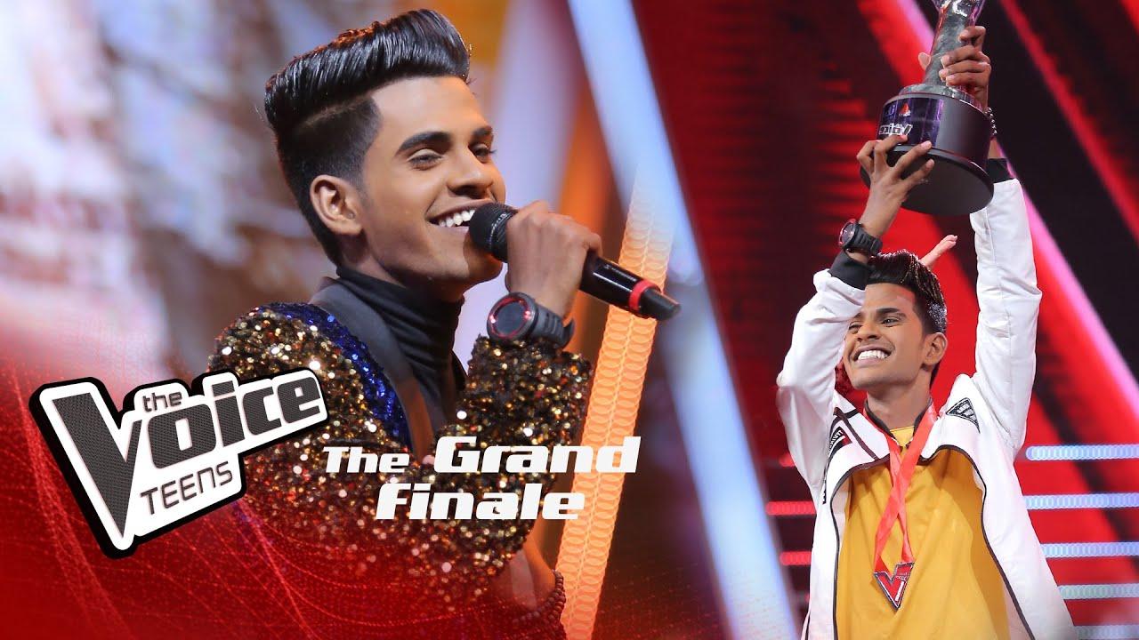 THE WINNER | Hashen Dulanjana | The Voice Teens Sri Lanka 2020