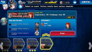 [KHUx Event] New XIII Event Challenge Axel - Organization XIII Challenge Axel 6/13
