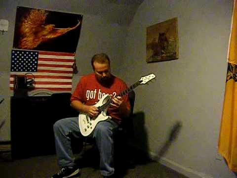 ELECTRIC GUITAR SOLO DONE WITH AN IBANEZ SZ320
