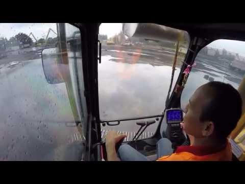 สอนขับรถแม็คโคร รถตัก ง่ายมาก ขับเป็นได้ทันที! (Backhoe Training)