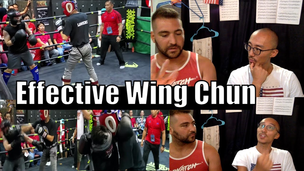Wing Chun Used Effectively - Wing Chun vs Boxing & Wing Chun Grappling