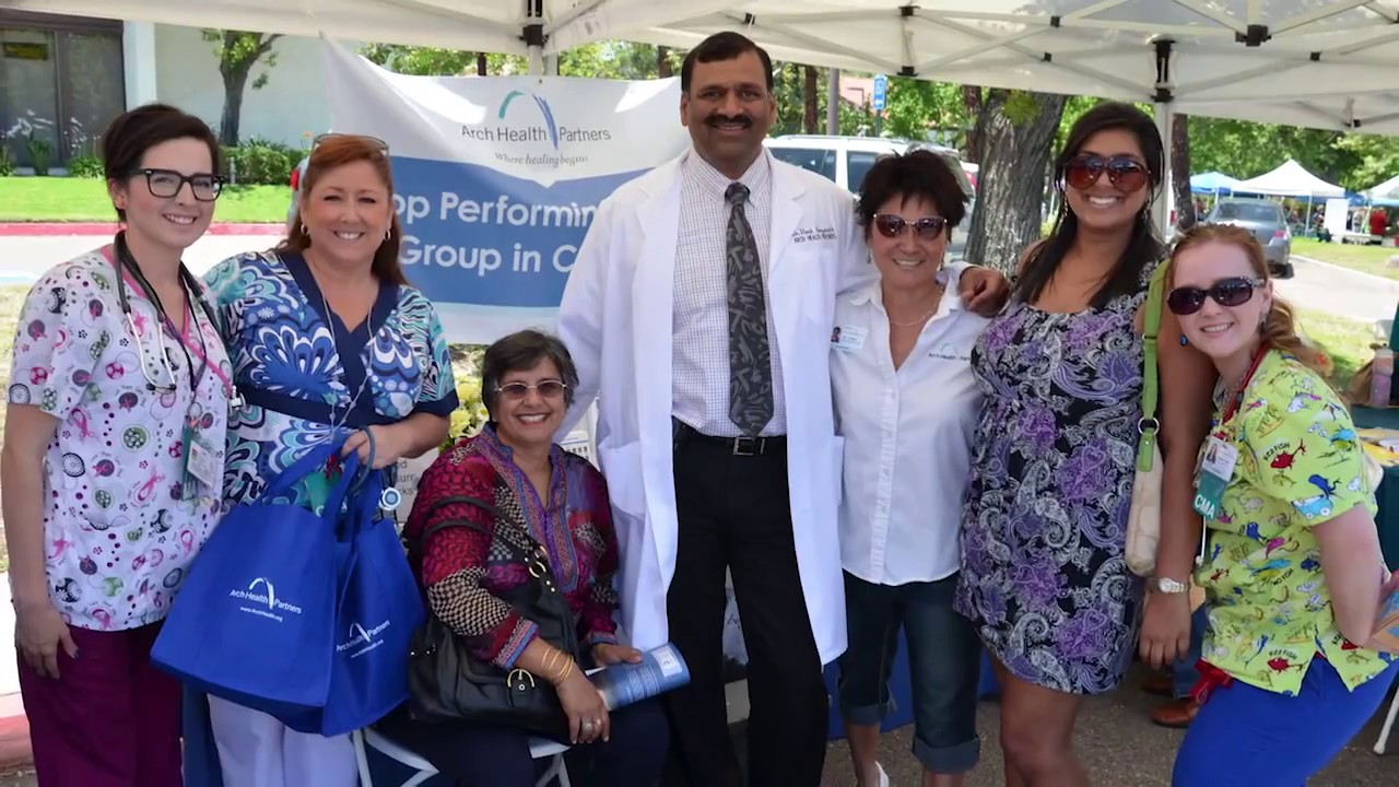 arch health partners pulmonology escondido google