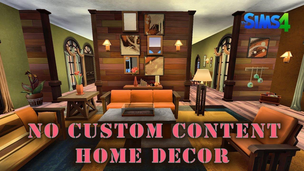 The Sims 4, Yuma Heights Home Decor/Renovation   No Custom Content Speed  Build/Decor