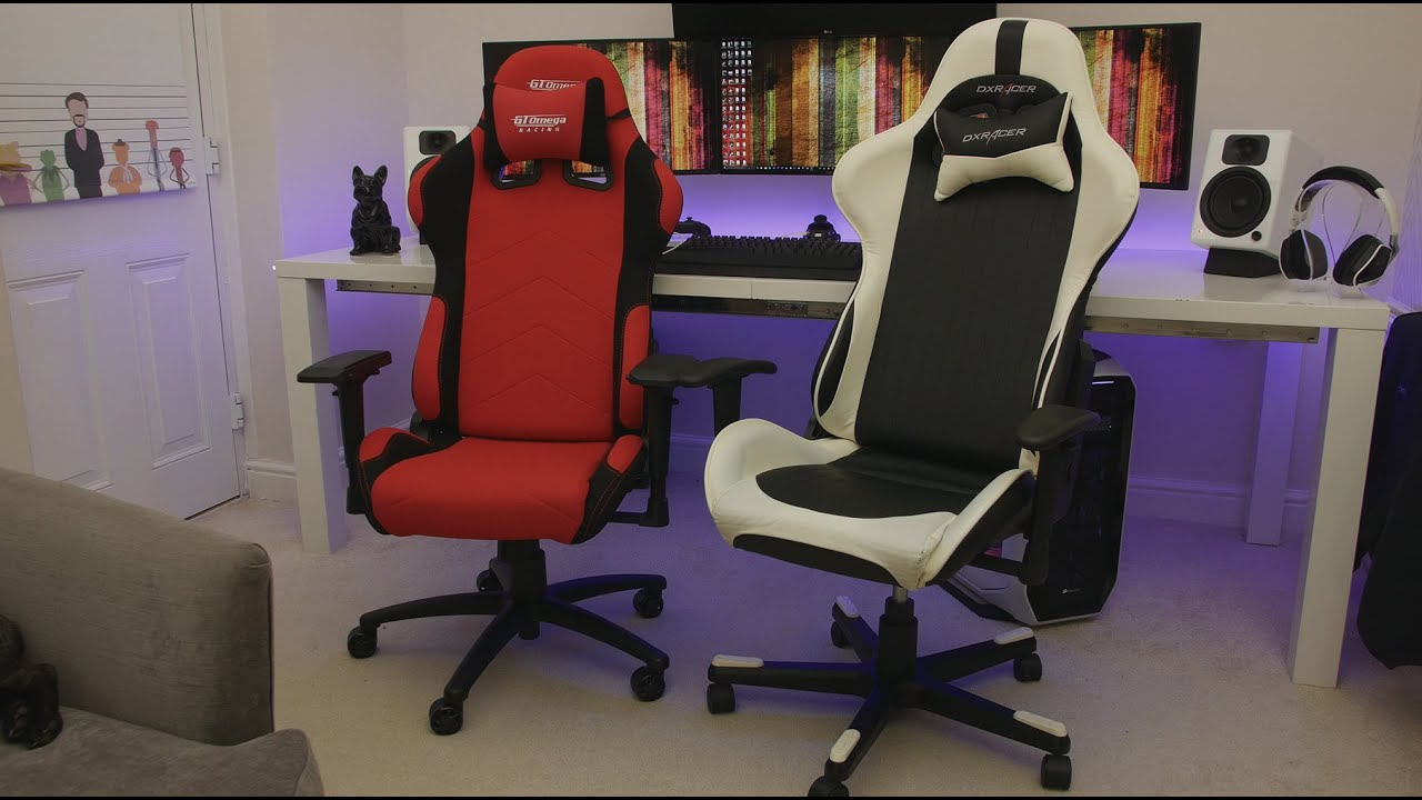 dxracer chair cover best beach for seniors gt omega vs which one should you buy honest c