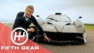 Fifth Gear Tiffs Emotional Moment With The Zonda Pigani смотреть