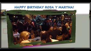 FELIZ CUMPLEANO EN MIMIS SOCIAL CLUB, A ROSA Y MARTHA