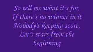 Nick Carter- Do I have to cry for you (with lyrics)