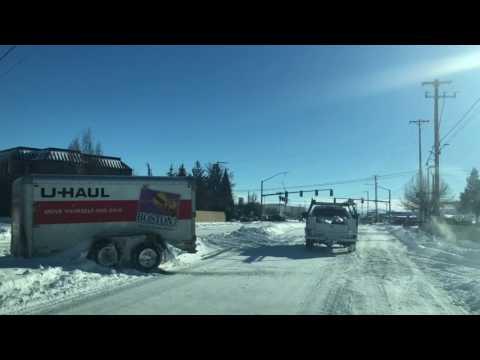 Snow Day in Klamath Falls