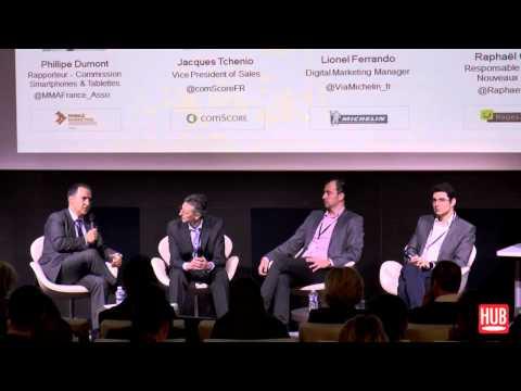 Mobile Marketing Association, Comscore, Michelin, Pages Jaunes - Mobile Marketing Association