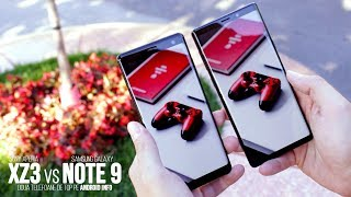 Galaxy Note 9 vs Xperia XZ3 - care crezi ca o sa castige?