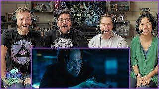 John Wick: Chapter 3 - Parabellum Official Trailer Reaction