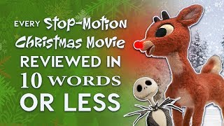 Every Stop-Motion Christmas Movie Reviewed in 10 Words or Less!