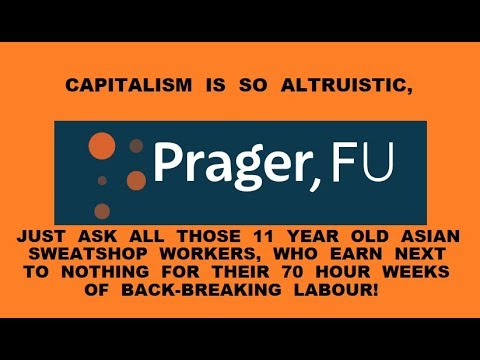 Prager, FU - Capitalism Vs. Socialism