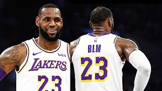 NBA Allowing Players To Replace Name On Jerseys With Social Justice Statement!