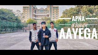Apna Time Aayega Dance Cover | Choreography Abhishek Chhetri | Gully Boy| Ranveer Singh & DIVINE
