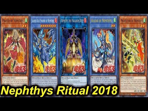 【YGOPRO】NEPHTHYS RITUAL DECK 2018 - YouTube