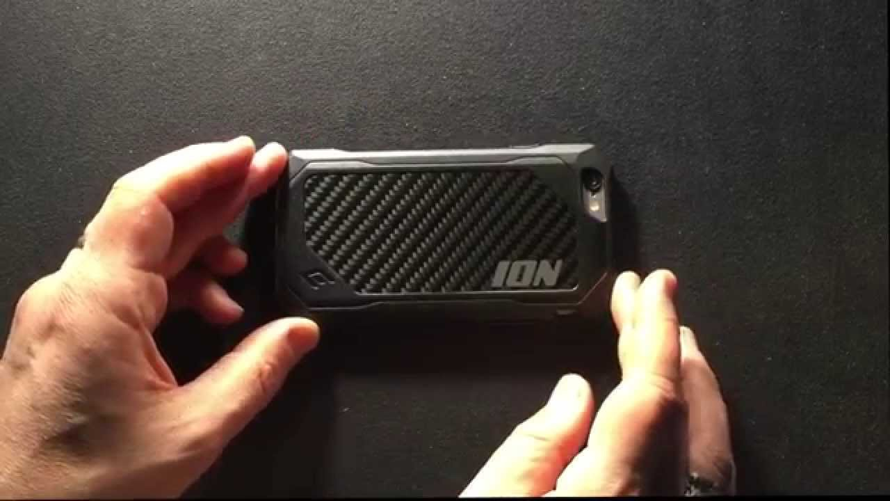 8d940052b4d904 Element Case ION for iPhone 6 - YouTube