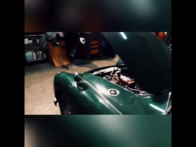 MGA Engine Start!