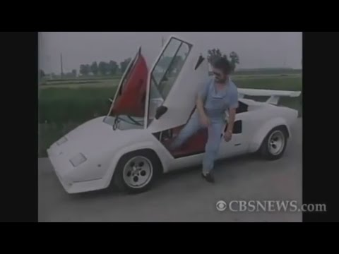 Countach - Ferrucio Lamborghini & Valentino Balboni on 60 Minutes (1987)
