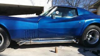 Kevin's 1976 C3 Widebody Corvette Project Video 2