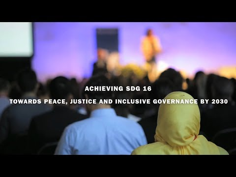SIPRI Searchlight: Towards peace, justice and inclusive governance by 2030