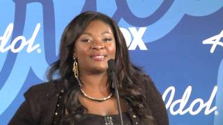Candice Glover on performing with Jennifer Hudson