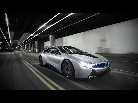 Bmw I8 Los Angeles At Night Youtube