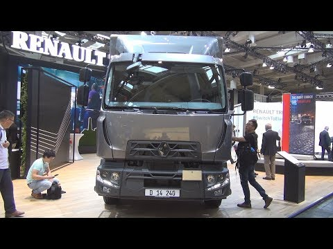Renault Trucks D 240 Global Cab Lorry Truck (2019) Exterior and Interior