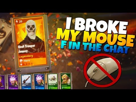 I BROKE MY MOUSE DURING THIS LLAMA OPENING!