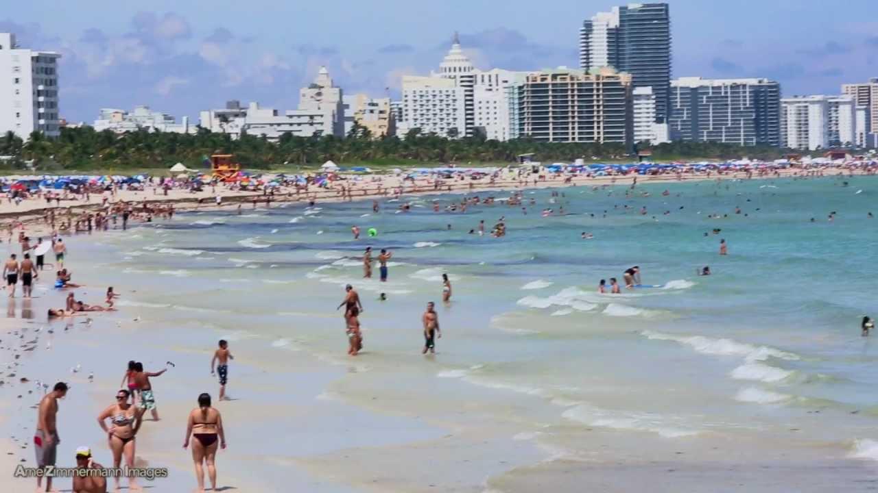 South Pointe Park Beach Miami By Arne Zimmermann