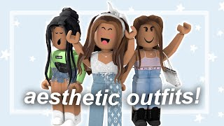Aesthetic Roblox Girl Ideas Aesthetic Roblox Outfits For You With Codes Youtube