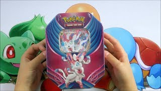 Pokemon TCG Opening The fairy Powered Sylveon GX Tin
