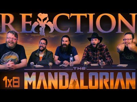 """The Mandalorian 1x8 FINALE REACTION!! """"Chapter 8: Redemption"""""""