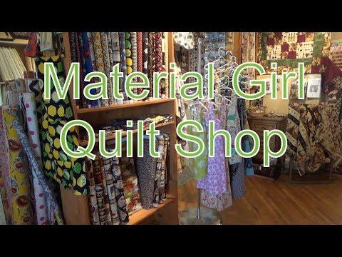 Material Girl Quilt Shop