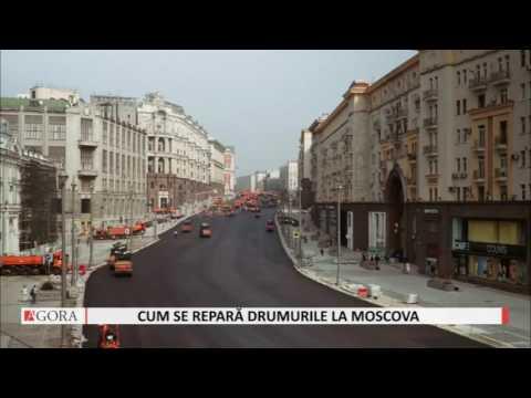 Asfaltare în 24 de ore. Cum a fost renovată cea mai importantă stradă din Moscova