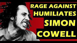 Rage Against The Machine RATM X Factor Humiliation Of Simon Cowell