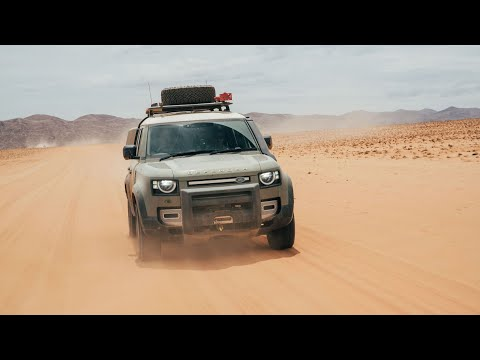 New Land Rover Defender takes on the wilds of Namibia