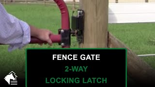 2-way Gate Locking Latch From Ramm
