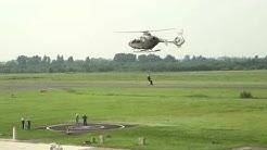Helikopter-Action in Emden