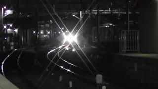 【夜の大江でMH】名鉄2000系ミュースカイ大江通過ミュージックホーンフル