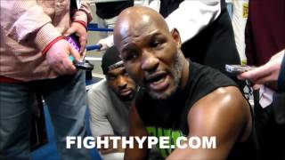 BERNARD HOPKINS ON SWITCH FROM RICHARDSON TO JACKSON; SAYS HISTORY AIN'T ABOUT HIS TRAINERS