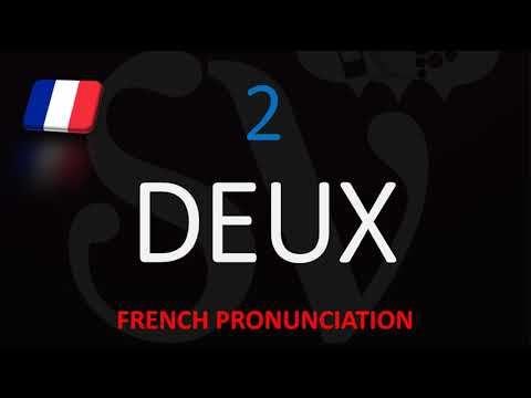How To Say 8 In French Translation Pronunciation Number Eight Huit Youtube