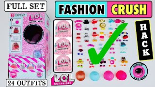 6 SUPER EASY STEPS to HACK A FULL CASE OF LOL SURPRISE FASHION CRUSH & GET ALL 24 DOLL OUTFITS!! Welcome to UP and PLAY! Today we ...