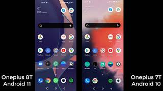 Oxygen OS -  Android 10 vs  Android 11