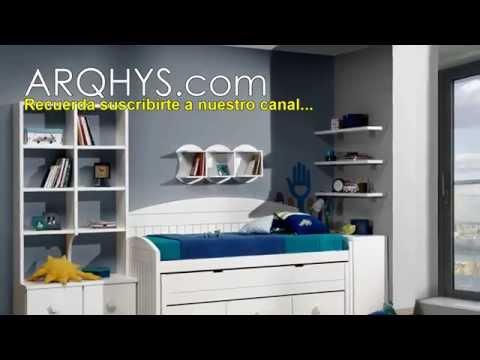 ¡Dormitorios juveniles...! Habitaciones, cuartos o recamaras para adolescentes
