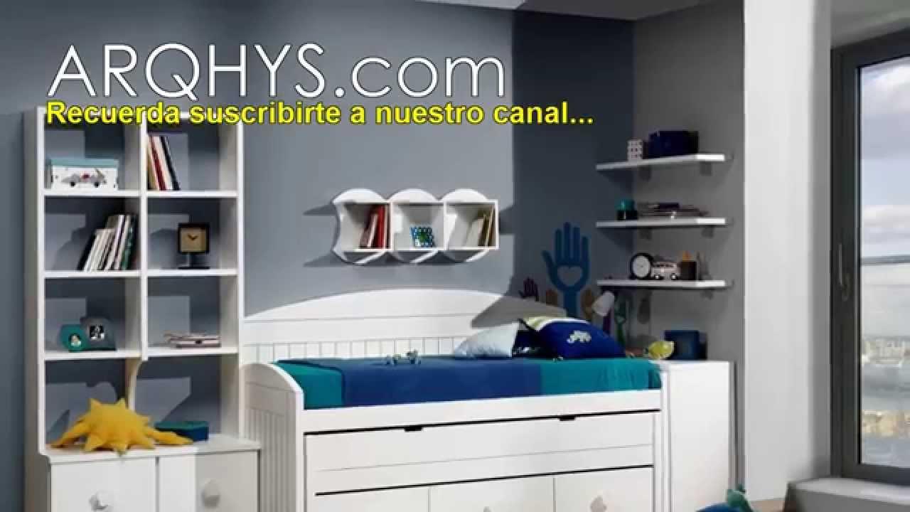 Habitaciones cuartos o recamaras para adolescentes youtube for Decoracion de recamaras juveniles para hombre